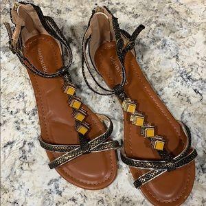 Heavenly soles sandals